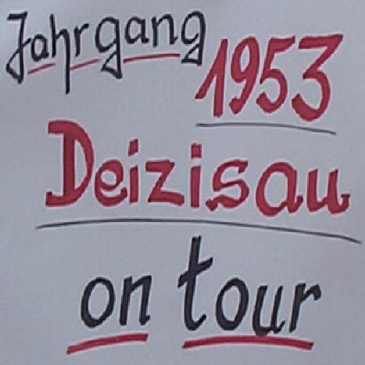 Das Motto des Jahrgangs 1953 Deizisau