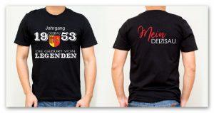 Jahrgangs-T-Shirt